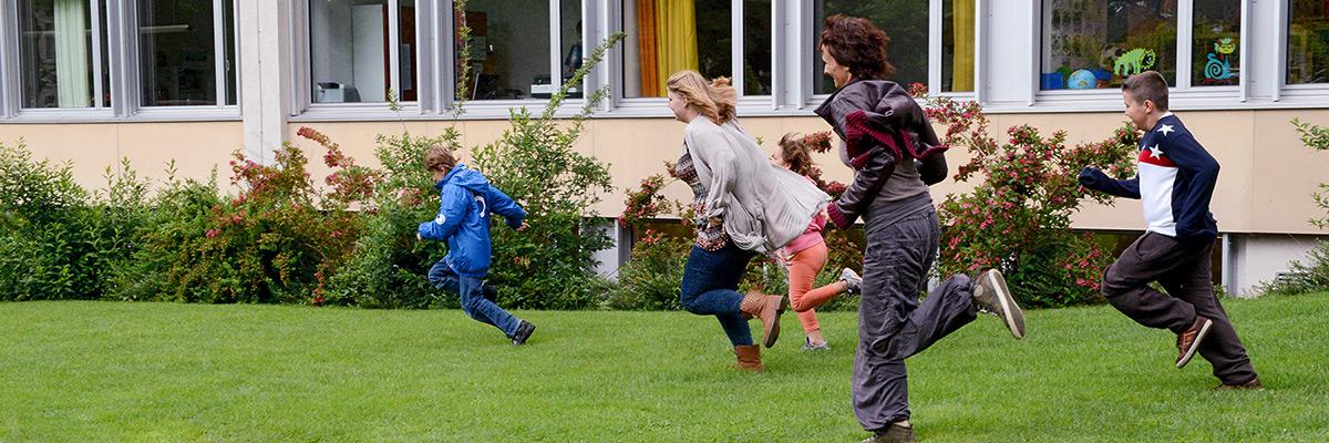 Spiel und Spass an der HPS Turbenthal