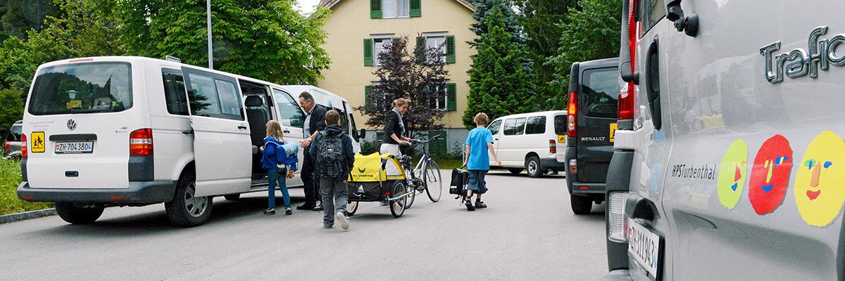 Schulweg und Transport HPS Turbenthal